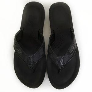 COACH Slip On Thong Flip Flop Sandals 8